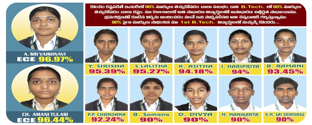 Our College Toppers